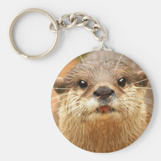 Asian Small Clawed Otter Keychain