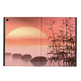 Asian steps to the sun - 3D render Cover For iPad Air