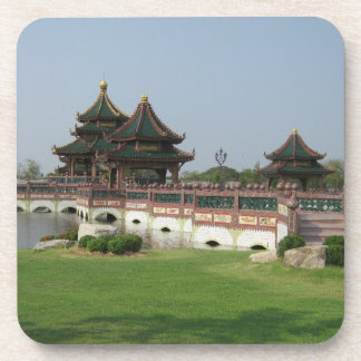 Asian style architecture Coaster