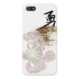 Asian Style Totem-Brave Cover For iPhone 5/5S