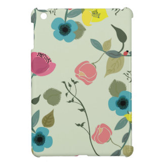 Asian styled floral patterns cover for the iPad mini