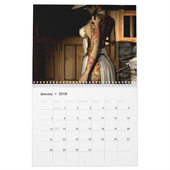 Asian Tattoo, test Calendar
