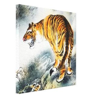 Asian Tiger Canvas Print