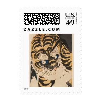 Asian Tiger Stamp