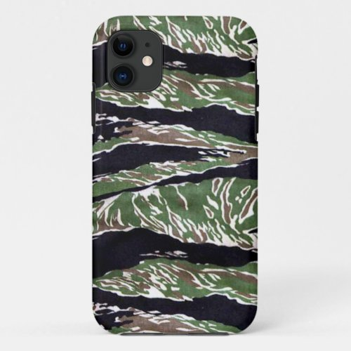Asian Tiger Stripe Camouflage Phone Case