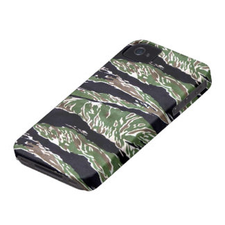 Asian Tiger Stripe Camouflage iPhone 4 Case-Mate Case