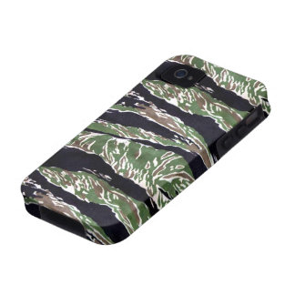 Asian Tiger Stripe Camouflage iPhone 4 Covers