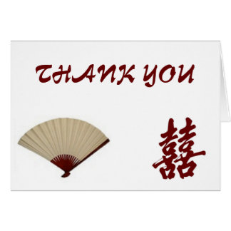 Asian Traditional-Thank You Card