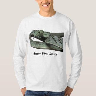 Asian Vine Snake Basic Long Sleeve T-Shirt