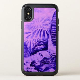 Asian Wallpaper pink blue Speck iPhone X Case