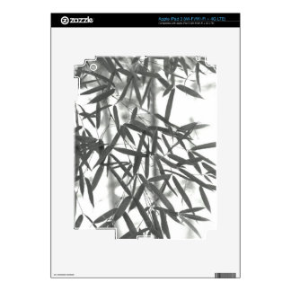 Asian wash painting style (sumi-e) style bamboo iPad 3 skin