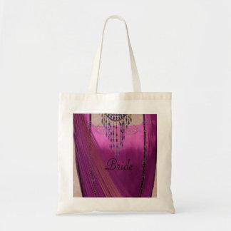Asian Wedding Sari Tote Bag