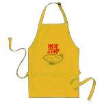 "Asian Wok Cooking Apron ""WOK STAR!"""