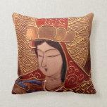 Asian Woman Decorative Pillow