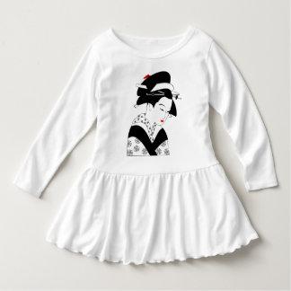 Asian Woman Geisha Japanese Toddler Dress