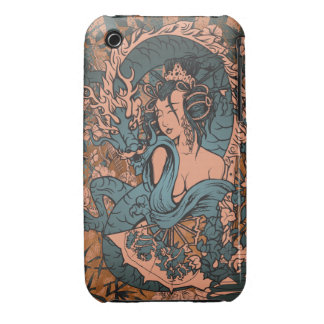 Asian Woman iPhone 3 Covers