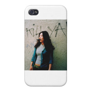 Asian Woman Power Photo Iphone 4 Case