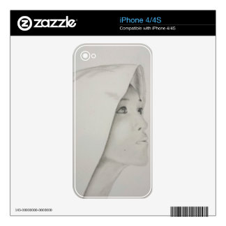 Asian Woman Skins For iPhone 4