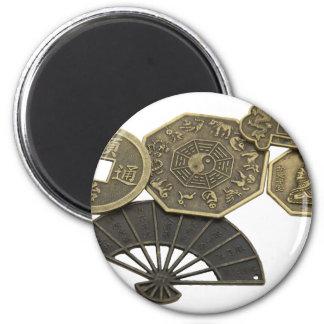 AsianCoins062109 2 Inch Round Magnet
