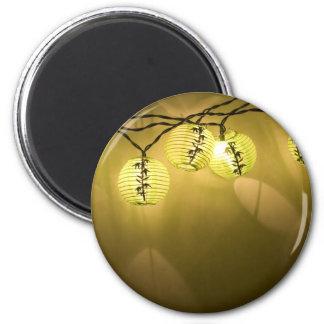 AsianLanterns060709 2 Inch Round Magnet