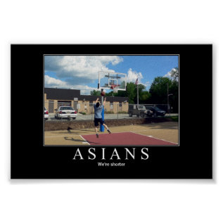 Asians Poster at Zazzle