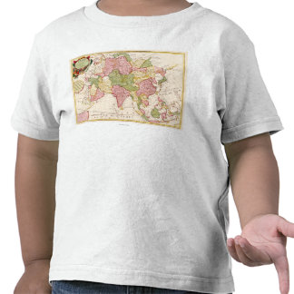 AsiaPanoramic MapAsia 10 Camiseta