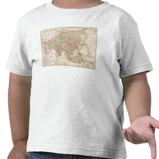 AsiaPanoramic MapAsia 4 Camisetas