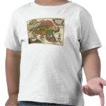AsiaPanoramic MapAsia 5 Camisetas