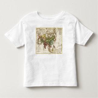 AsiaPanoramic MapAsia 7 Toddler T-shirt