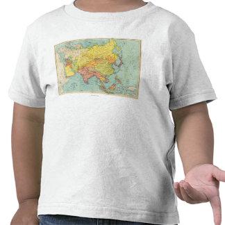 AsiaPanoramic MapAsia 9 Camisetas