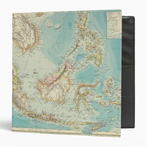 Asiatic Archipelago 2 3 Ring Binders