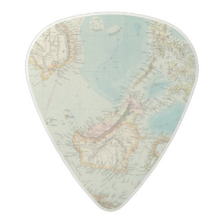 Asiatic Archipelago 2 Acetal Guitar Pick