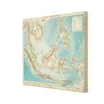 Asiatic Archipelago 2 Canvas Print
