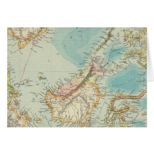 Asiatic Archipelago 2 Greeting Card