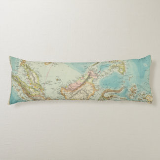 Asiatic Archipelago 2 Body Pillow