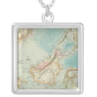 Asiatic Archipelago 2 Silver Plated Necklace