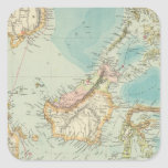 Asiatic Archipelago 2 Square Sticker