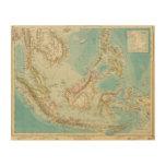 Asiatic Archipelago 2 Wood Canvas
