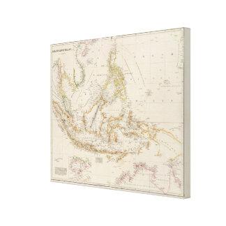Asiatic Archipelago 3 Canvas Print