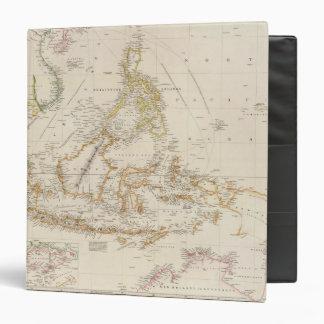 Asiatic Archipelago 3 Ring Binders