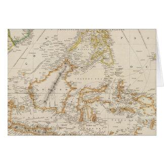 Asiatic Archipelago Greeting Card