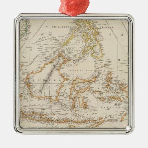Asiatic Archipelago Metal Ornament