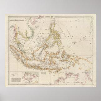 Asiatic Archipelago Poster