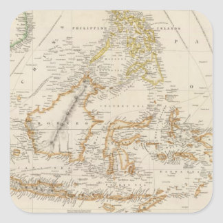 Asiatic Archipelago Square Sticker