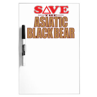 Asiatic Bear Save Dry-Erase Board