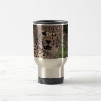 Asiatic Cheetah Mugs