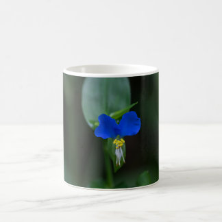 Asiatic Dayflower Blue Wildflower Mug Cup