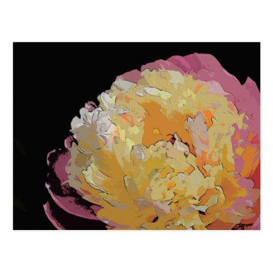 Asiatic Flower Postcard