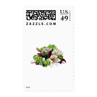 Asiatic Lilies, Hydrangea and Berries Postage