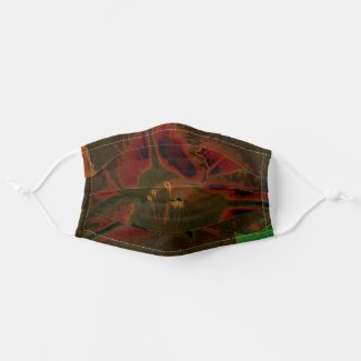 Asiatic lily NEON Cloth Face Mask